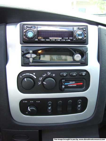 2003 Dodge Ram 2500 Dash Replacement : dodge, replacement, Aftermarket, Double-DIN, Stereo,, Navigation, Bezel, Dodge, Diesel, Truck, Resource, Forums