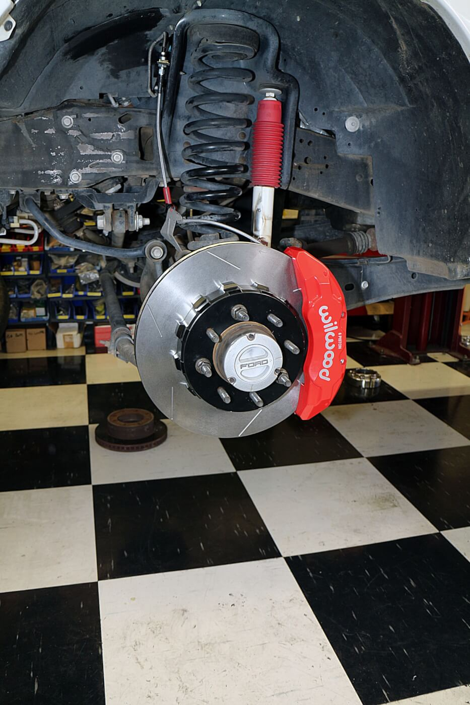 hight resolution of this is the complete front brake kit on the f250 it offers much