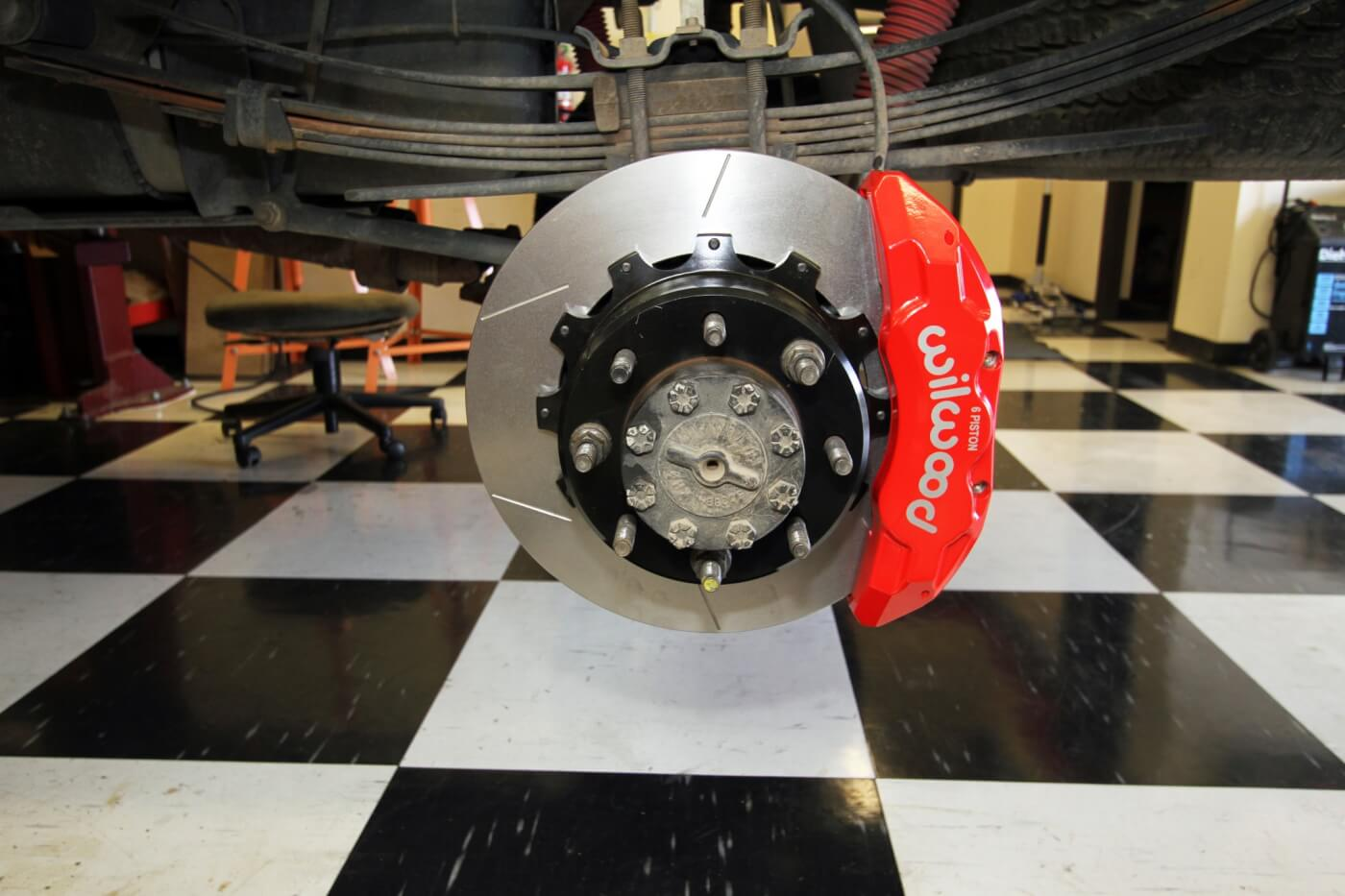 hight resolution of this is the competed rear wilwood brake upgrade the rear brake