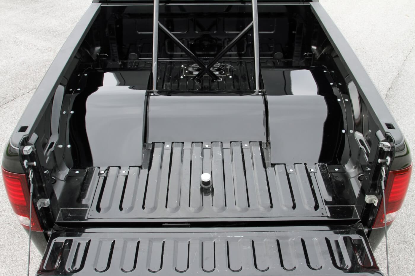 hight resolution of with the tailgate down you can see the fuel filler tube as well as the