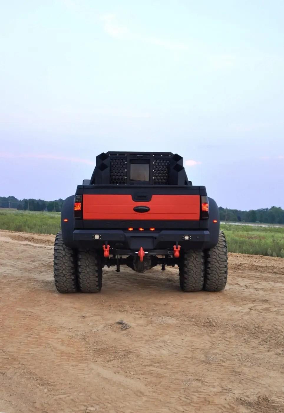 6 Door Ford Truck For Sale : truck, Platinum, F-350, Monster, Truck