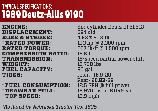 1989 Deutz-Allis 9190: The Road to AGCO