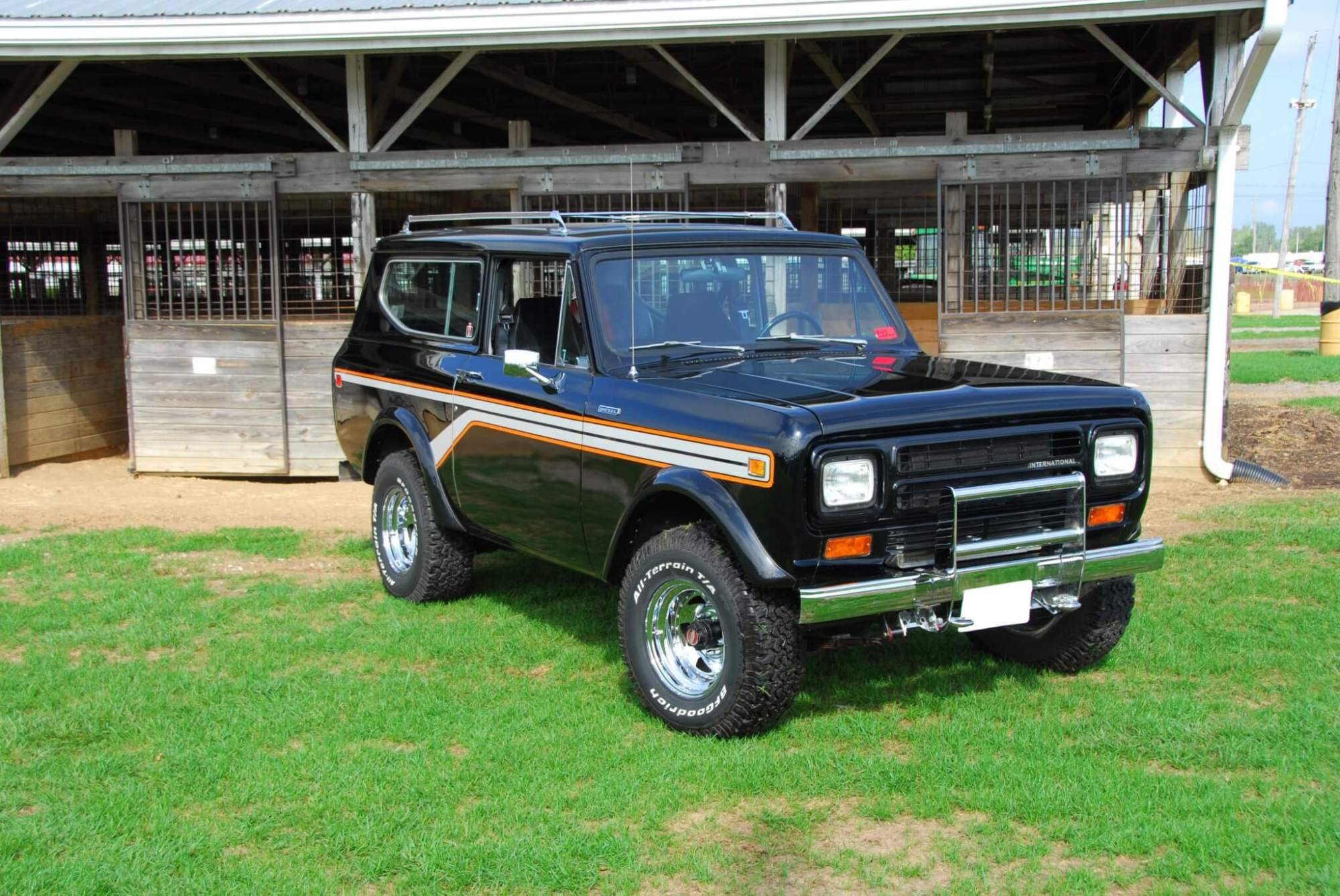 hight resolution of dr todd sommer s 1980 scout ii started off rough but after a full restoration