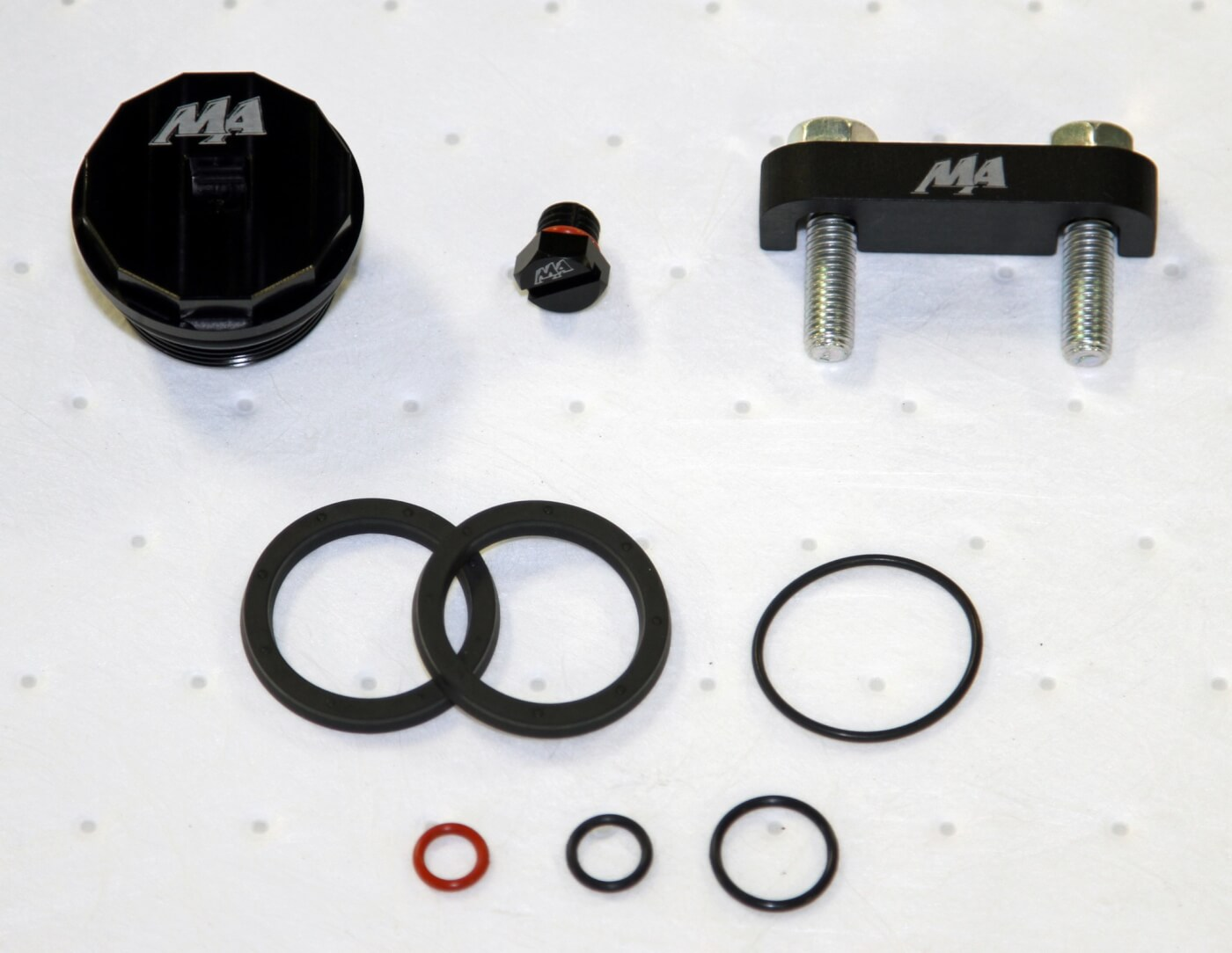 hight resolution of merchant automotive s master filter head kit includes everything seen here as well as a