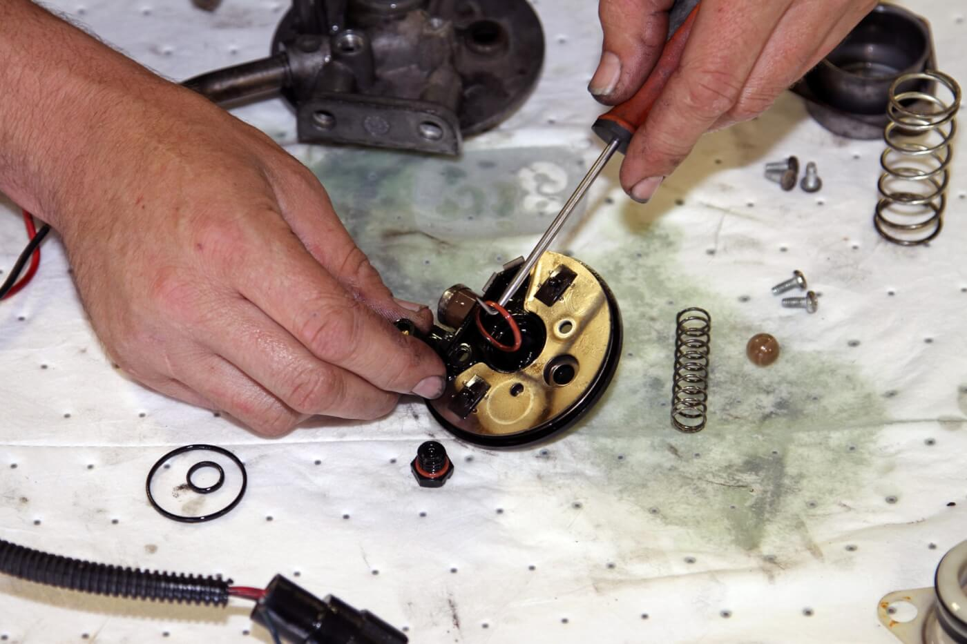 hight resolution of 15 using a pick tool phaff removes the old o rings from the
