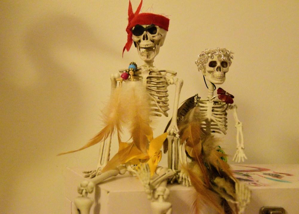 Happy Mr.&Mrs.Skeleton2