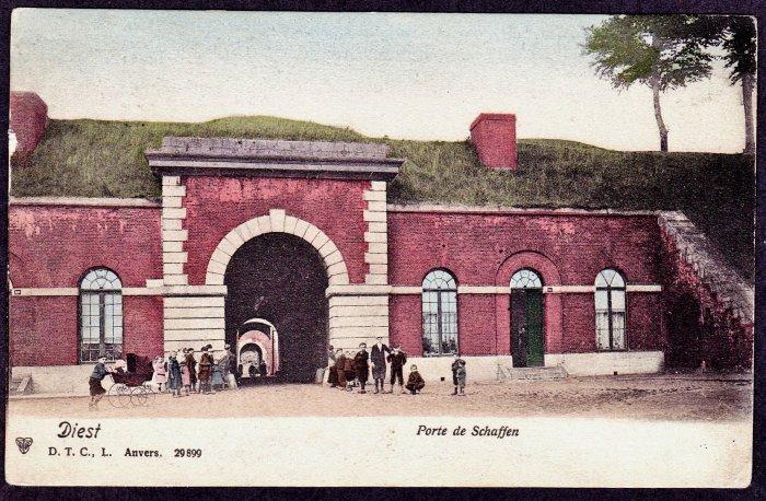 Schaffense Poort in 1902