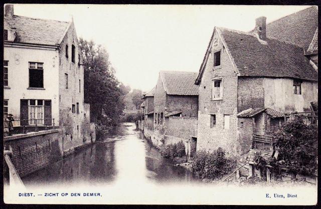 Langs de Demer in 1903