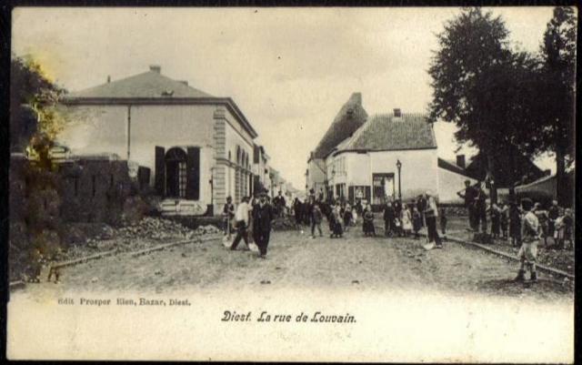 Leuvense Poort in 1917