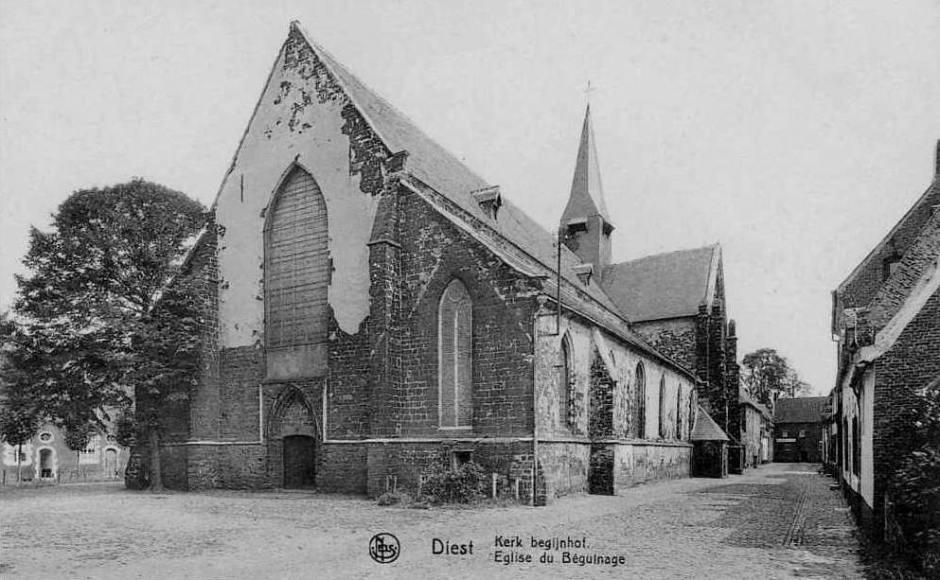Sint Catharinakerk in 1923