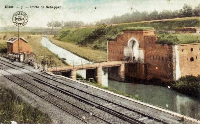 Schaffense Poort in 1911
