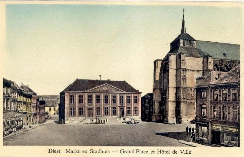 Grote Markt in 1948