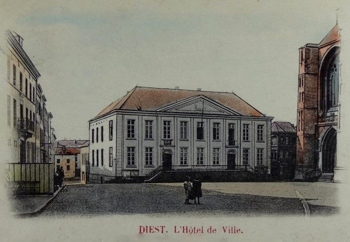 Stadhuis in 1901