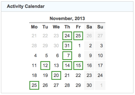 activity calendar 20131130