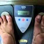 プチ断食1週間企画 3日目朝の体重と体脂肪