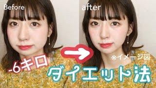 【超絶簡単】マイナス6キロダイエット法!