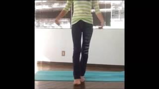【オススメダイエット】歩き方一つで美脚!モデル筋トレの内転筋強化で美脚と脚痩せのW効果♪/簡単激痩せダイエットch