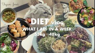 🌈8週目(2/20〜26)| Diet | 1週間の結果 -0.50kg 【48.75kg⇨48.25kg】