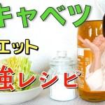 【痩せる酢キャベツの作り方】超簡単レシピ!世界一受けたい授業で話題の酢キャベツダイエット【食べてやせる】