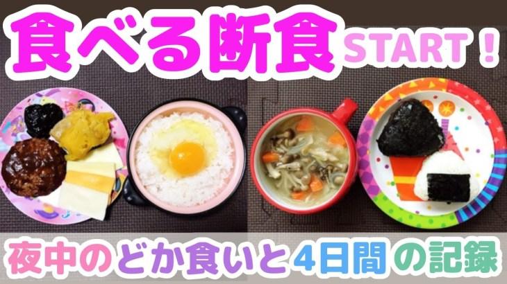 【お米ダイエット】食べる断食START!過去のドカ食い記録と短期集中お米ダイエット10日間→4日分の記録!