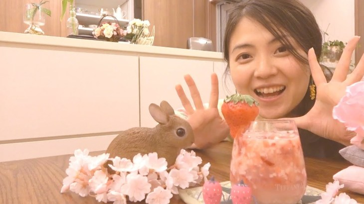 苺甘酒作ってルンルンな春♫【発酵/腸活ダイエット/簡単レシピ】