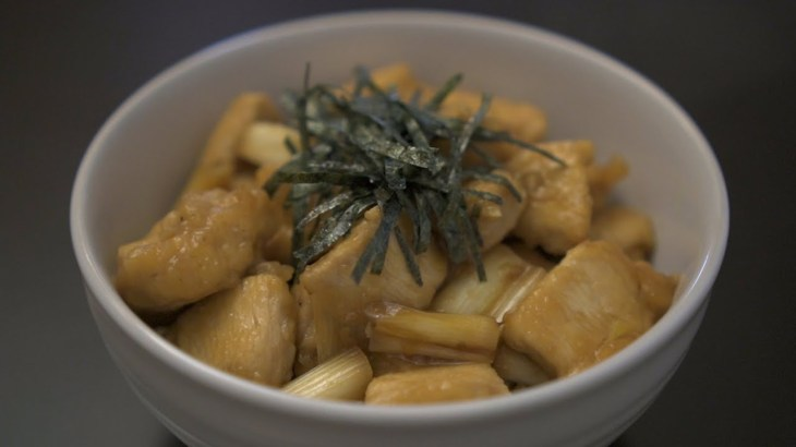 ダイエット専用 『焼き鳥丼』 オートミール 鶏胸肉  照り焼き 痩せる食事 グルテンフリー 健康 レシピ