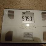 糖質制限26日目の体重。ついに最高記録突破!