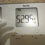 ダイエット114日目の体重