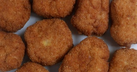 Nuggets de pollo Keto