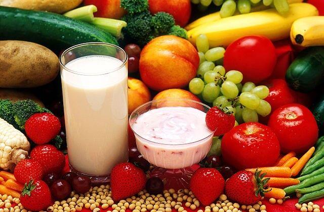 leche huevo vegetariano