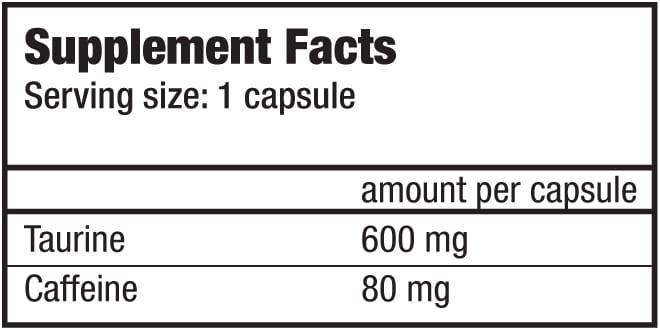 biotech_usa_caffeine_taurine_facts