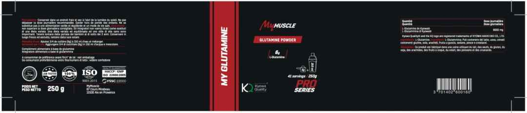 valeur nutrition mymuscle diet and sport