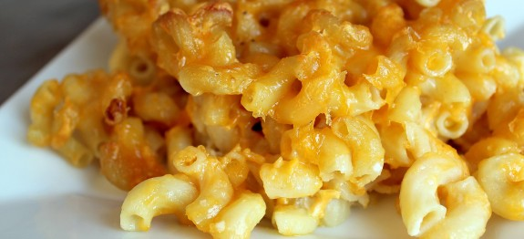 Receta de Mac and cheese