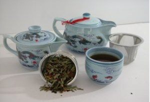 El té azul
