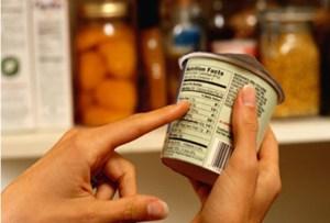 Leer las etiquetas de los envases