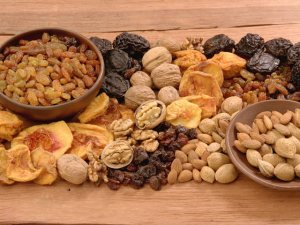 Los frutos secos en tu dieta