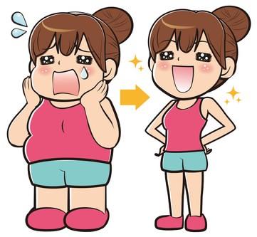 リバウンドしないダイエット方法は?【筋トレや食事が重要!】