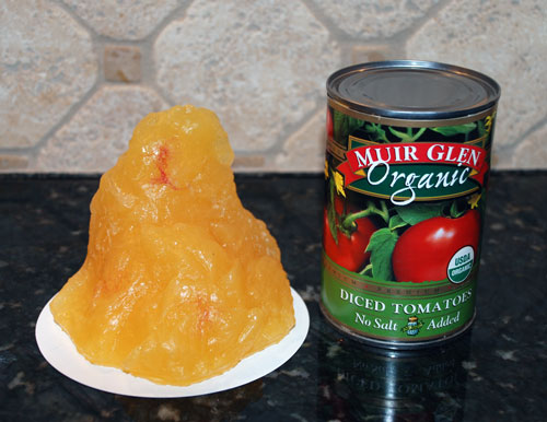 1 Pound of Body Fat Compared to Can of Tomatoes