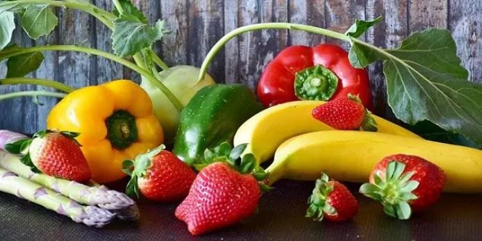 fruits et légumes pour un repas minceur