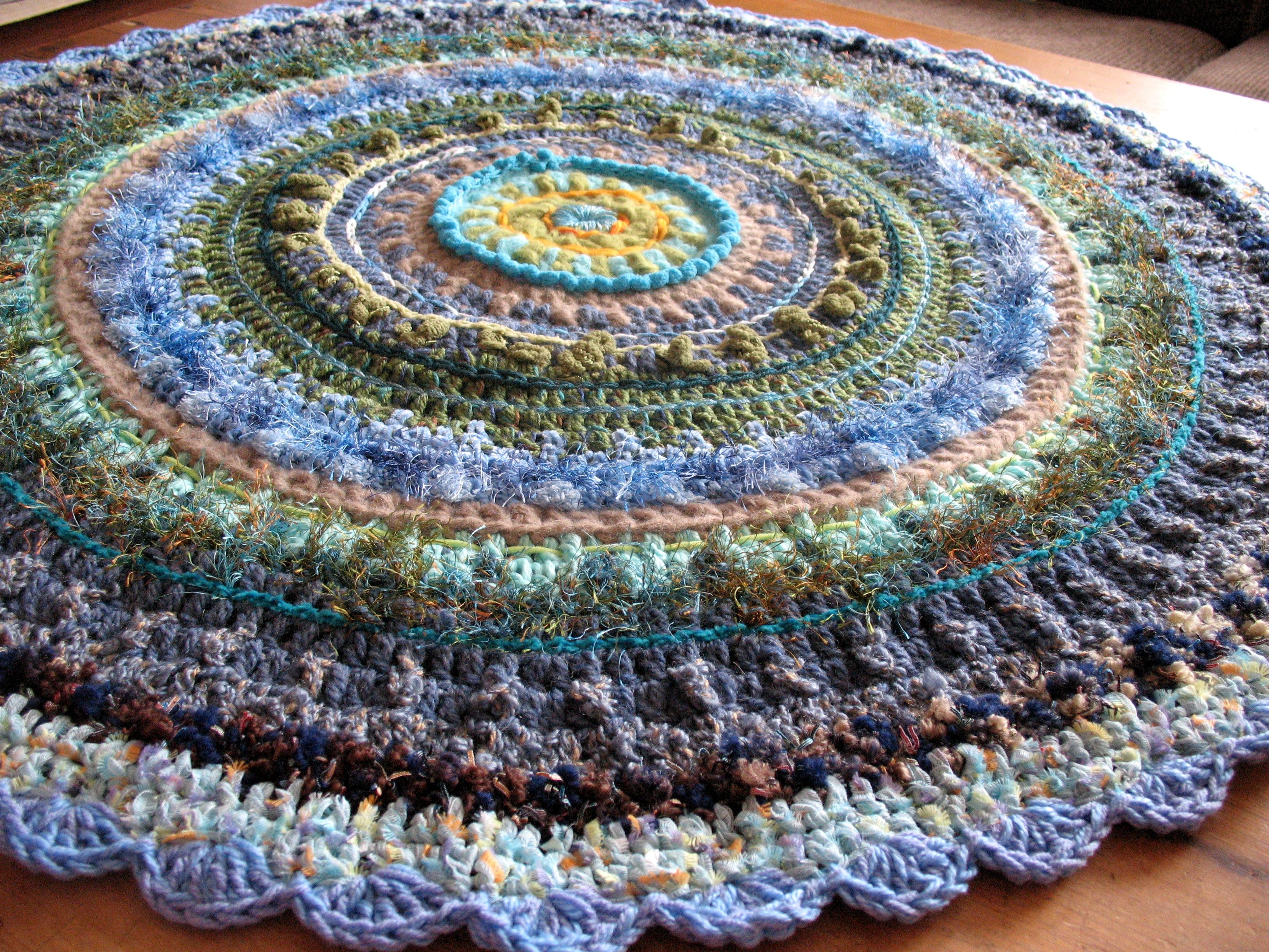 Teppich Aus Stoffresten Häkeln Teppich Aus Veganer Wolle