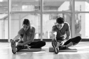 sport et alimentation étirements