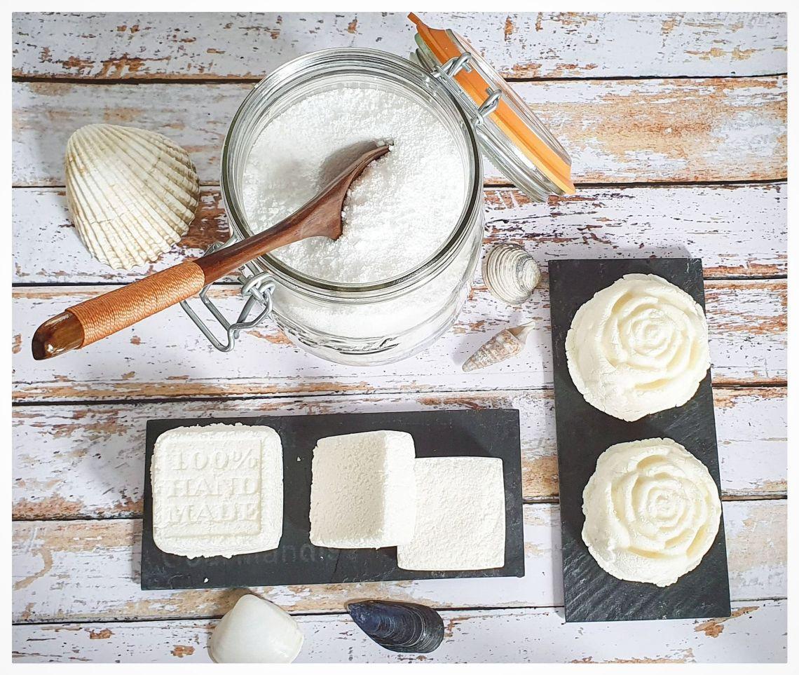 cakes vaisselle - shampooing solide - poudre lave-vaiselle
