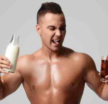 kefir napojem sportowców