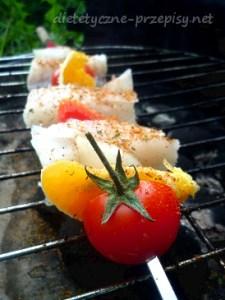 dietetyczne szaszłyki rybne