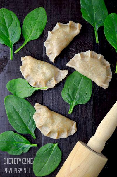 Dietetyczne Pierogi Razowe Ze Szpinakiem Porcja 200 Kcal