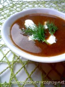 zdrowa zupa grzybowa przepis