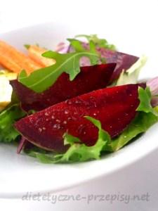 warzywa pieczone z czosnkowym dressingiem (2)