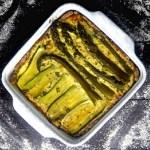 Żytnia tarta ze szparagami i cukinią w zdrowej wersji