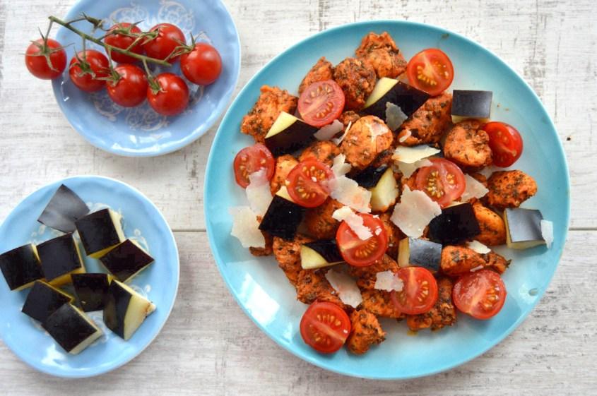 Szybki Filet Z Kurczaka Z Baklazanem Fit Dietetyczne Przepisy