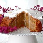 Fit ciasto dyniowe z mąki jaglanej z lukrem